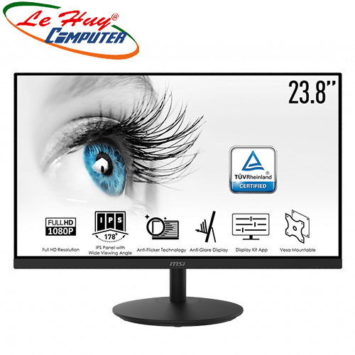 Màn hình LCD MSI PRO MP242 23.8inch FHD IPS 75Hz 5ms
