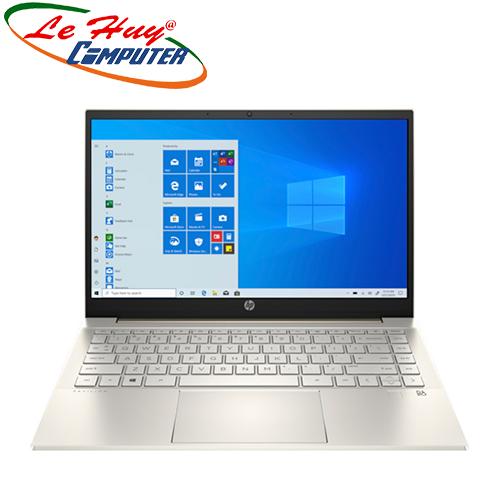 Máy Tính Xách Tay/Laptop HP Pavilion 14-dv0042TU (2H3L1PA) ( i5-1135G7/8GB RAM/256GB SSD/14 FHD/Win10/Office/Vàng)