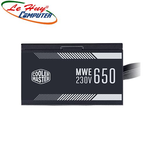 Nguồn máy tính Cooler Master MWE WHITE V2 650W- 80 Plus White