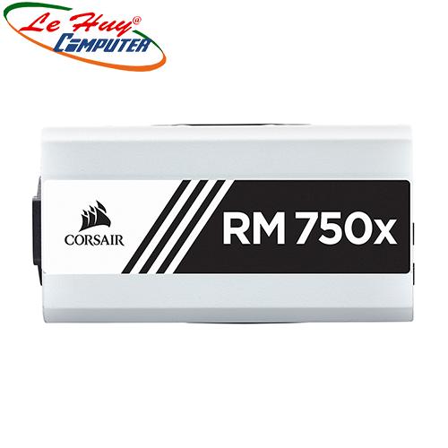 Nguồn máy tính Corsair RM750x 80 Plus Gold - Full Modul - Màu trắng (CP-9020187-NA)