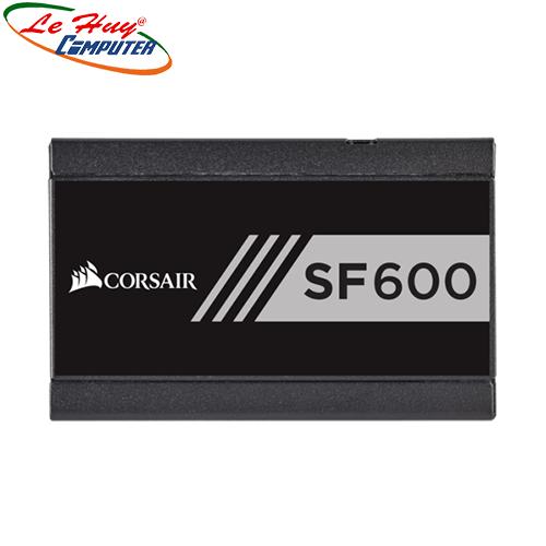 Nguồn máy tính Corsair SF600 Gold 80 Plus Gold - SFX Factor - Full Modul (CP-9020105-NA)