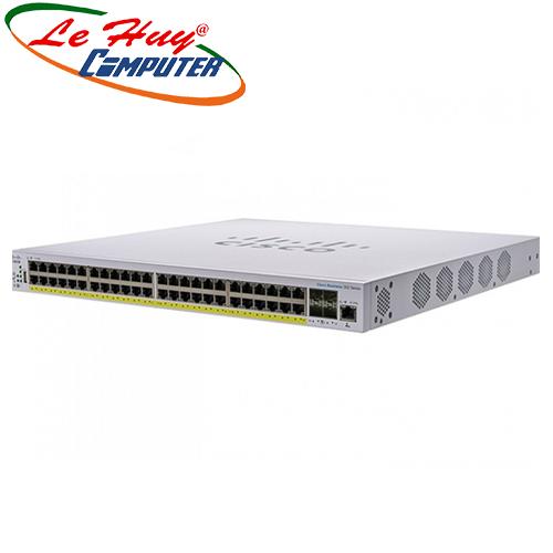 Thiết bị chuyển mạch Switch CISCO CBS350-48FP-4G-EU 48-port GE, Full PoE, 4x1G SFP