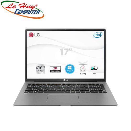 Máy Tính Xách Tay/Laptop LG Gram 17Z90N-V.AH75A5 (i7 1065G7/8GB RAM/512GB SSD/17inch IPS/FP/Win 10 Home Plus/Xám Bạc)