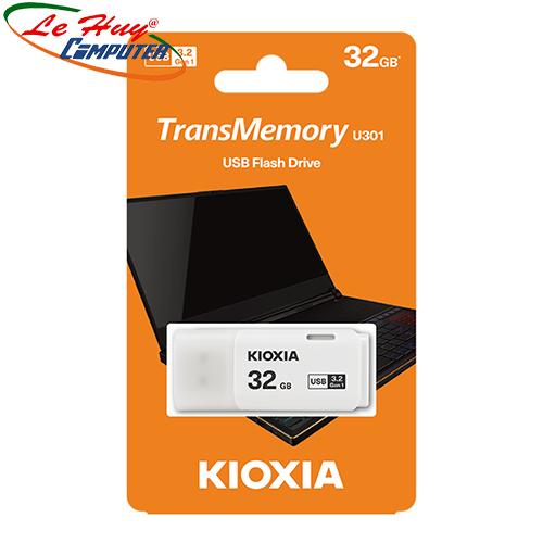 USB Kioxia 32GB USB 3.2 U301 White LU301W032GG4