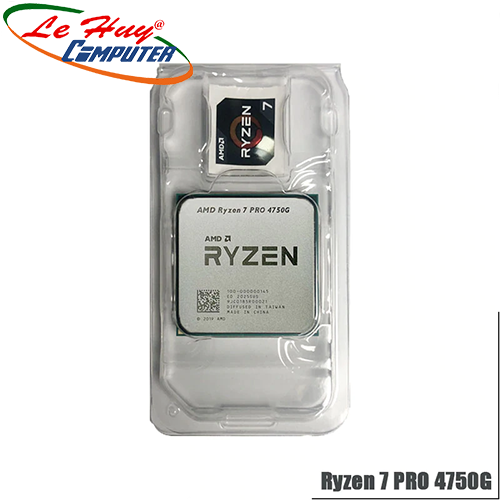 CPU AMD Ryzen 7 PRO 4750G MPK (3.6 GHz turbo upto 4.4GHz / 12MB / 8 Cores, 16 Threads / 65W / Socket AM4)