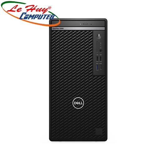 Máy tính để bàn/PC Dell OptiPlex 5080 Tower (i5-10500/4GB RAM/256 SSD/DVDRW/Wlan/K+M/Ubuntu) (70228814)