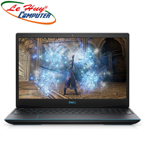 Máy Tính Xách Tay/Laptop Dell Gaming G5 15 5500 (70228123) (i7 10750H/2*8GB RAM/ 512GB SSD/15.6 inch FHD/RTX 2060 6G/Win10/Đen)