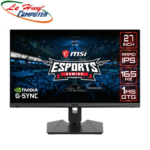 Màn hình LCD MSI Optix MAG274QRF 27inch WQHD 165Hz (Tặng ghế Gaming MSI CH120 cho khách mua hàng)