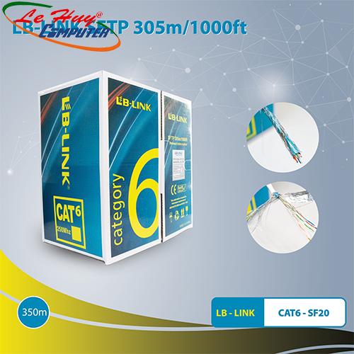 Cáp Mạng LB-LINK SFTP Cat6-SF20 305m Dây Trắng Chống Nhiễu