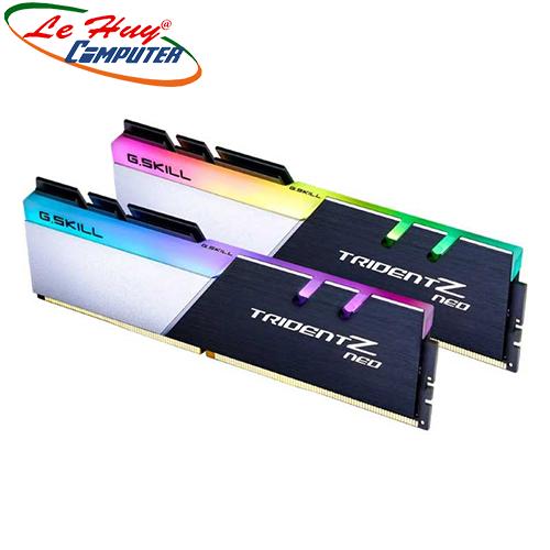Ram Máy Tính GSKILL TRIDENT Z Neo RGB 64GB (2x32GB) DDR4 3600MHz (F4-3600C18D-64GTZN)
