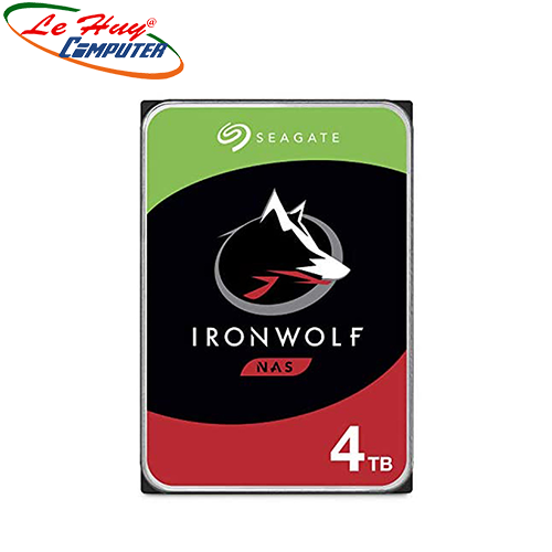 Ổ cứng HDD Seagate Ironwolf 4TB NAS SATA 5900rpm (ST4000VN008)