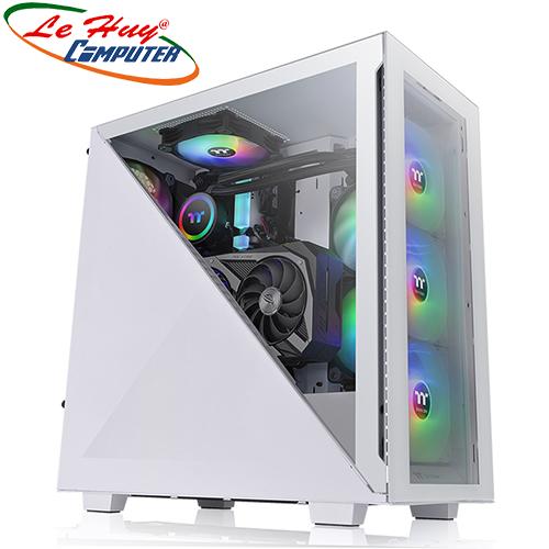 Vỏ máy tính Thermaltake Divider 300 TG Snow Mid Tower Chassis