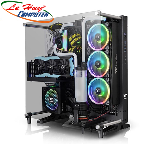 Vỏ máy tính Thermaltake Core P5 TG V2 Black Edition