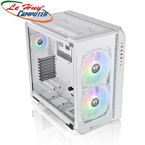 Vỏ máy tính Thermaltake View 51 Tempered Glass Snow ARGB Edition