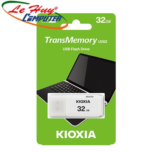 USB Kioxia 32GB USB 2.0 U202 White LU202W032GG4