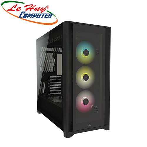 Vỏ máy tính Corsair iCUE 5000X RGB TG Black/White (CC-9011212-WW)
