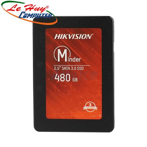 Ổ Cứng SSD HIKVISION Minder 480GB 2.5