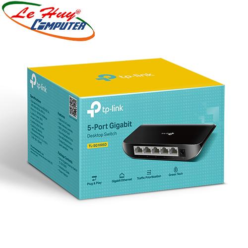 Thiết bị chuyển mạch Switch TP-Link TL-SG1005D 5 Port (1Gigabits)