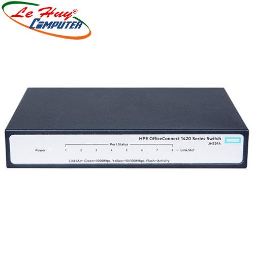 Thiết bị chuyển mạch Switch HP 8 Ports Gigabit 1420 JH329A