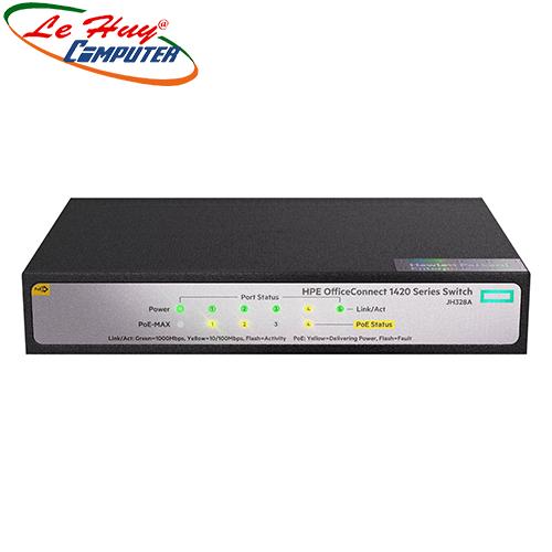 Thiết bị chuyển mạch Switch HP 1420 5G PoE+ (32W) JH328A