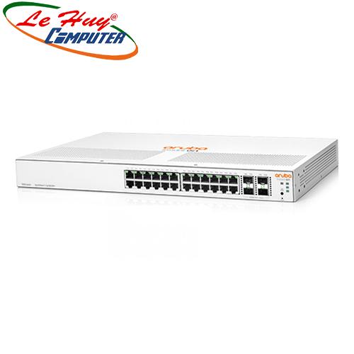 Thiết bị chuyển mạch Switch HP Aruba Instant On 1930 24G Class4 PoE 4SFP/SFP+ 370W Switch - JL684A