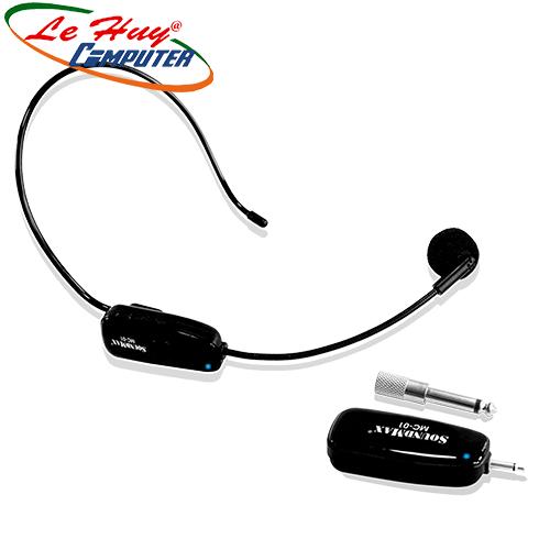 Micro không dây Soundmax MC-01