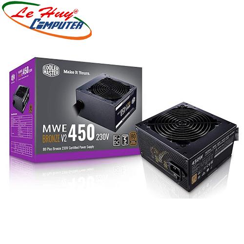 Nguồn máy tính Cooler Master MWE 450W V2 - 80 Plus Bronze