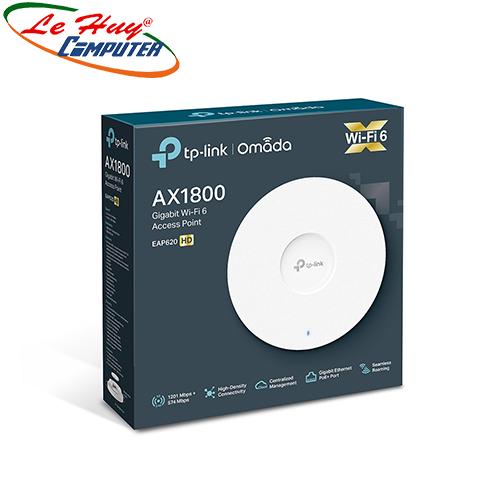 Thiết bị mạng - Router Wifi Gắn Trần TP Link EAP620 HD Băng Tần Kép AX1800