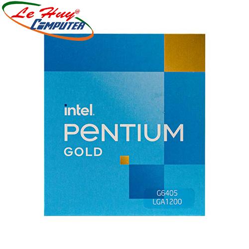 CPU Intel Pentium G6405 (4.1GHz, 2 nhân 4 luồng, 4MB Cache, 58W) – LGA 1200