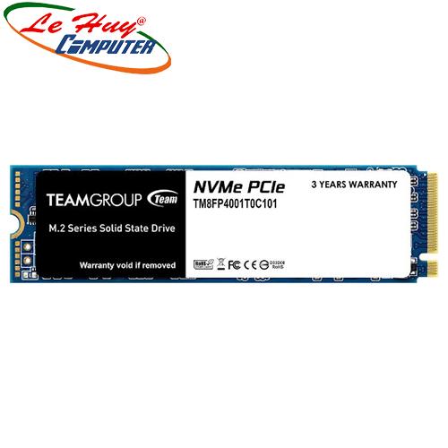Ổ cứng máy tính SSD TEAM MP34 M.2 2280 1TB PCIe 3.0 x4 with NVMe 1.3 (TM8FP4001T0C101)