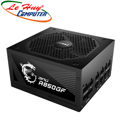 Nguồn máy tính MSI MPG A850GF 850W - 80 Plus Gold - Full modular