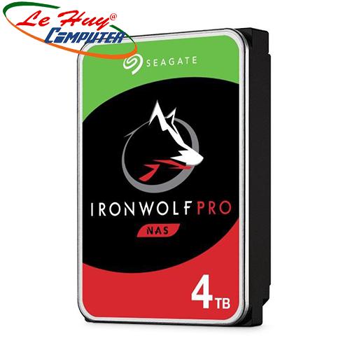 Ổ cứng Seagate Ironwolf Pro 4TB 3.5 inch SATA III 128MB Cache 7200RPM ST4000NE001