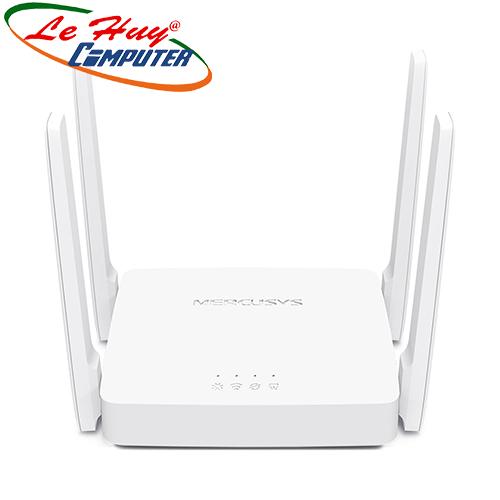 Thiết bị mạng - Router Mercusys AC10 băng tần kép AC1200Mbps