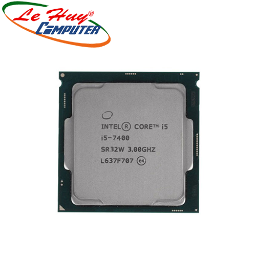 CPU Intel® Core i5 7400 (6M Cache, up to 3.5GHz) TRAY FAN I3