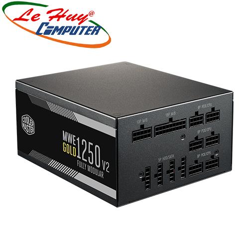 Nguồn máy tính Cooler Master MWE GOLD 1250W V2 - 80 PLUS Gold Full modular