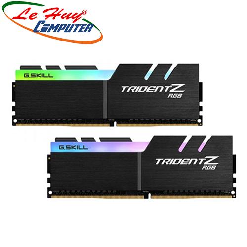 Ram Máy Tính GSKILL Trident Z RGB 32GB (2x16GB) DDR4 3600MHz (F4-3600C18D-32GTZR)