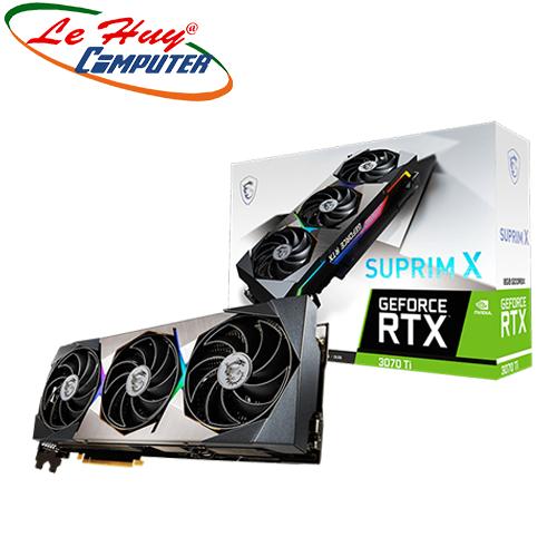 Card Màn Hình - VGA MSI GeForce RTX 3070 Ti SUPRIM X 8G