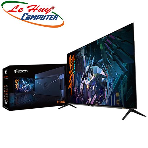 LCD - MÀN HÌNH Gigabyte AORUS FO48U Gaming 48 inch UHD OLED 120Hz Loa (15Wx2 + 20Wx1)