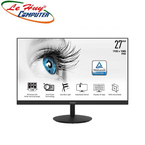 Màn hình LCD MSI Pro MP271 27 inch FHD IPS Loa(2x2W)