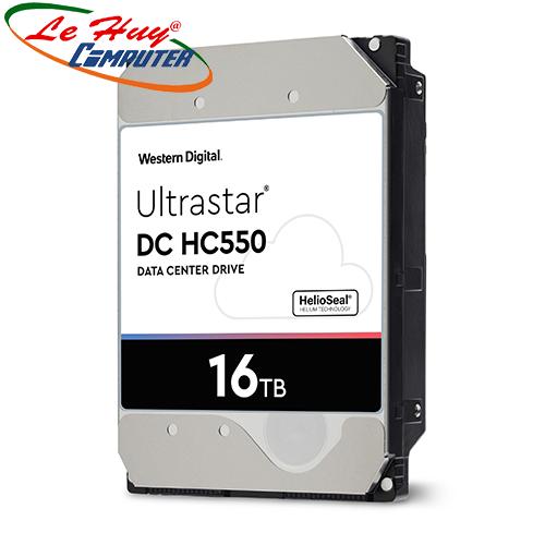 Ổ Cứng HDD ENTERPRISE WD ULTRASTAR DC HC550 Enterpise 16TB SATA WUH721816ALE604
