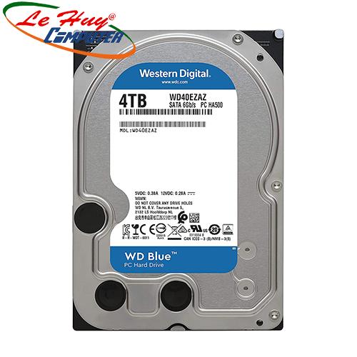 Ổ Cứng HDD Western 4TB BLUE 3.5 inch SATA III 256MB Cache 5400RPM WD40EZAZ
