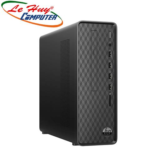 Máy tính để bàn/PC HP S01-pF0101d (i3-9100/4GB RAM/1TB HDD/DVDWR/WL+BT/K+M/Win 10) (7XE20AA)