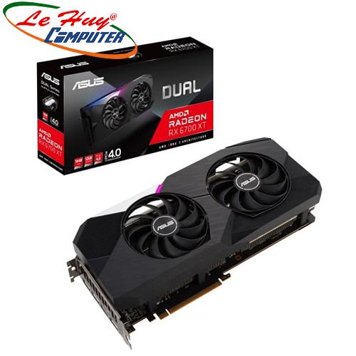 Card màn hình - VGA ASUS Dual Radeon RX 6700 XT 12GB (DUAL-RX6700XT-12G)