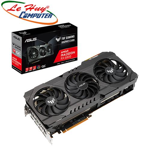 Card màn hình - VGA ASUS TUF GAMING Radeon RX 6800 OC (TUF-RX6800-O16G-GAMING)