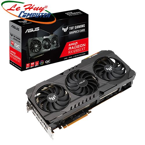 Card màn hình - VGA ASUS TUF GAMING Radeon RX 6900 XT OC (TUF-RX6900XT-O16G-GAMING)