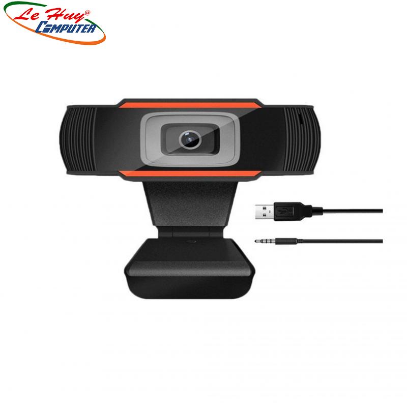 Webcam kẹp có mic A870 720P