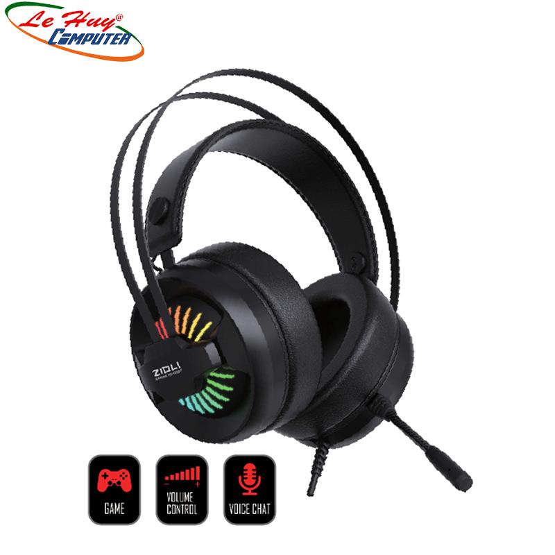 Tai nghe Zidli ZH-A1 3.5mm, USB, RGB
