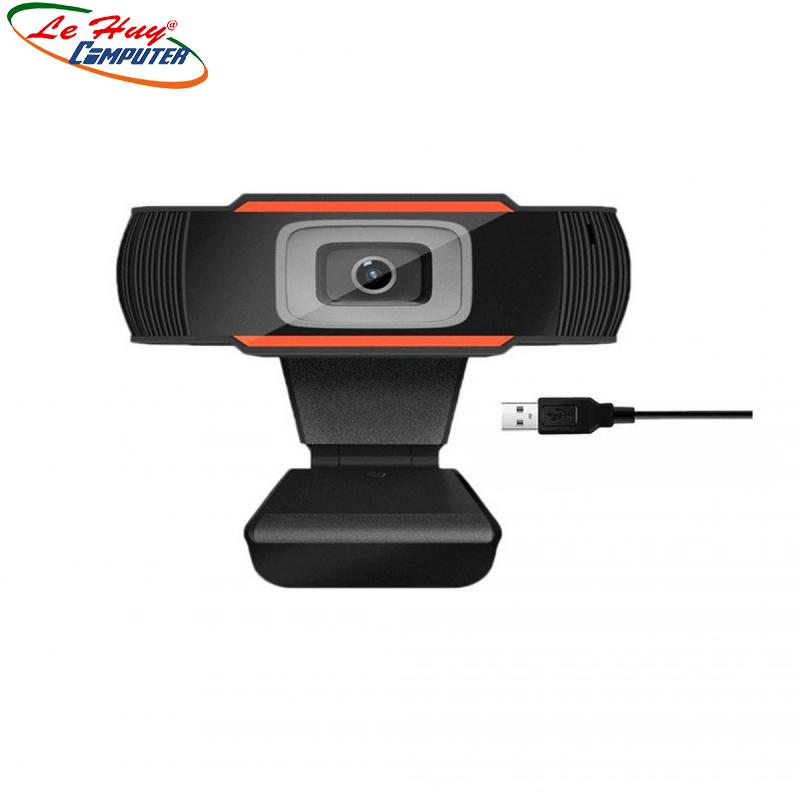 Webcam kẹp có mic A870/1080p/Full HD