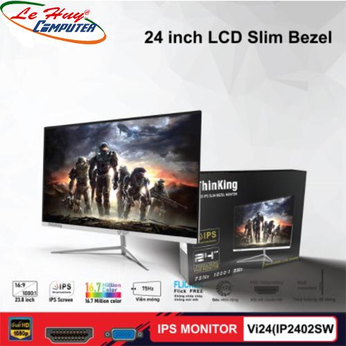 """Màn hình LCD 27""""  VSP Vi24(IP2402SW) Trắng"""