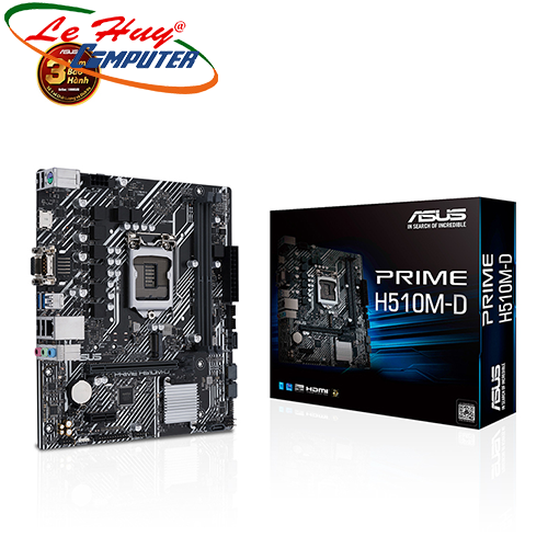 Bo Mạch Chủ - Mainboard ASUS PRIME H510M-D